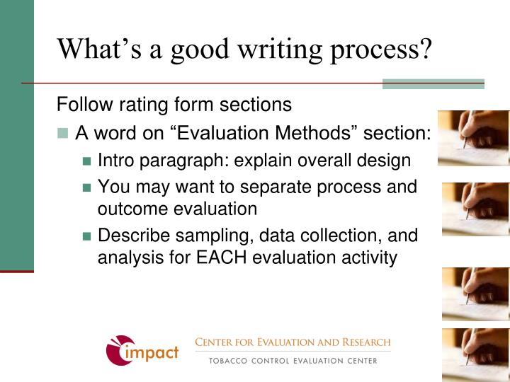 What's a good writing process?