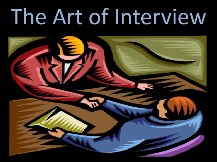 the art of interview n.
