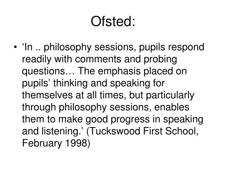 Ofsted: