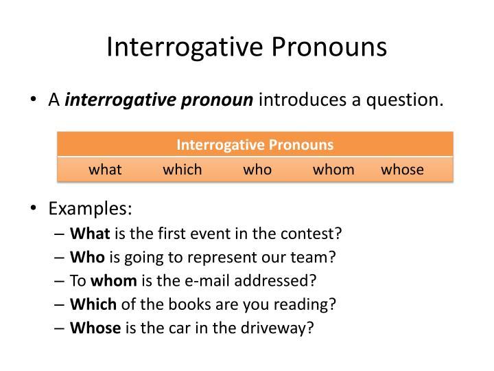 interrogative pronouns in spanish - 720×540
