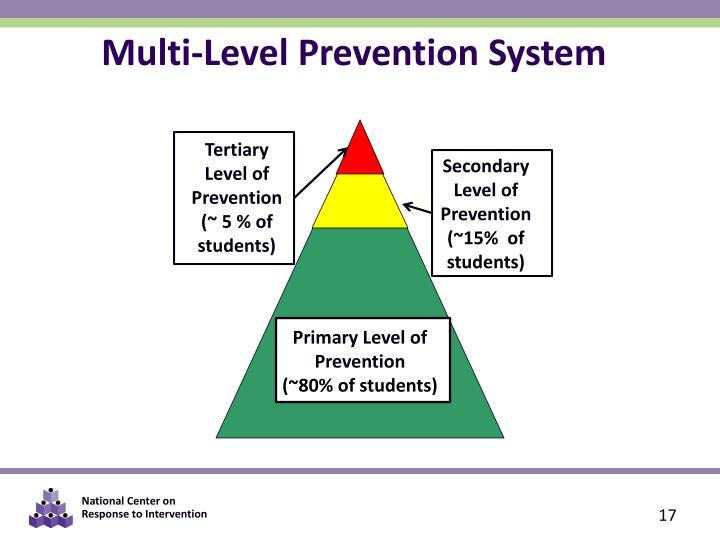Multi-Level Prevention System