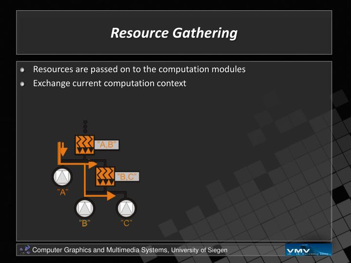 Resource Gathering
