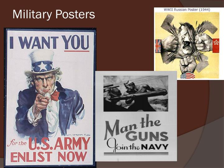 Military Posters