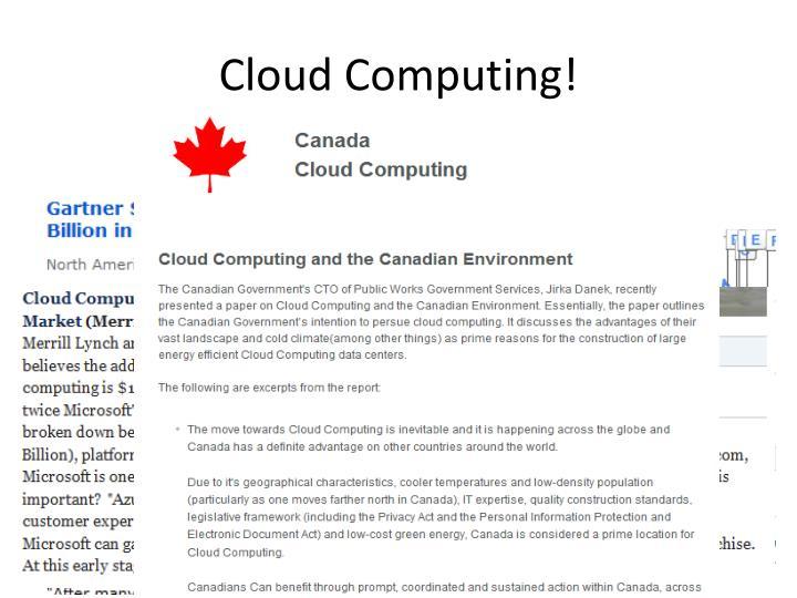 Cloud computing1