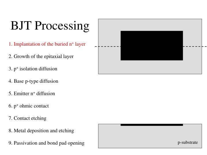 Bjt processing1