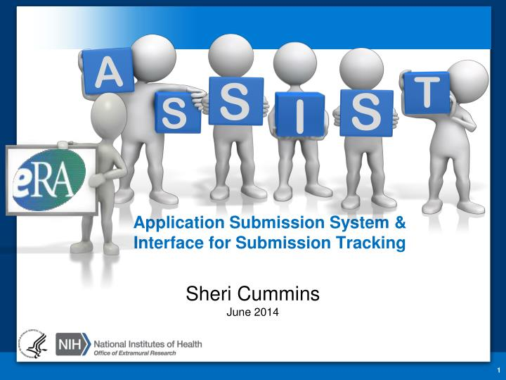 application submission system interface for submission tracking n.