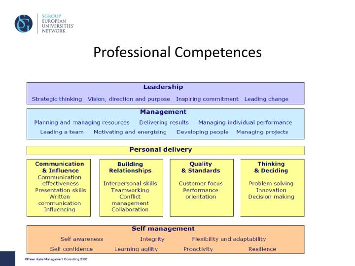 Professional Competences