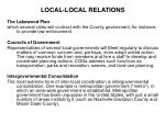 local local relations