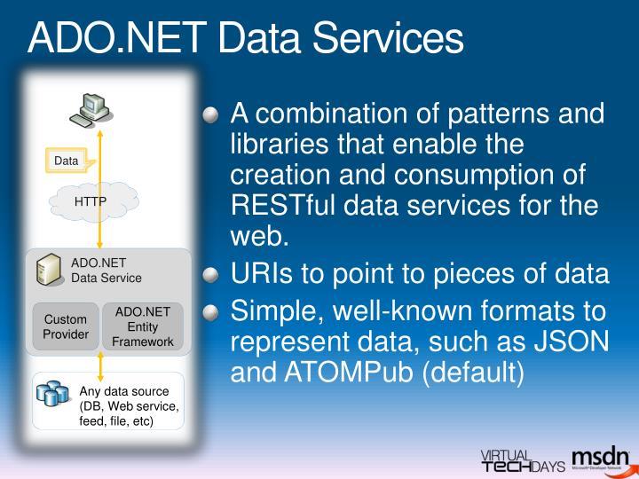 ADO.NET Data Services