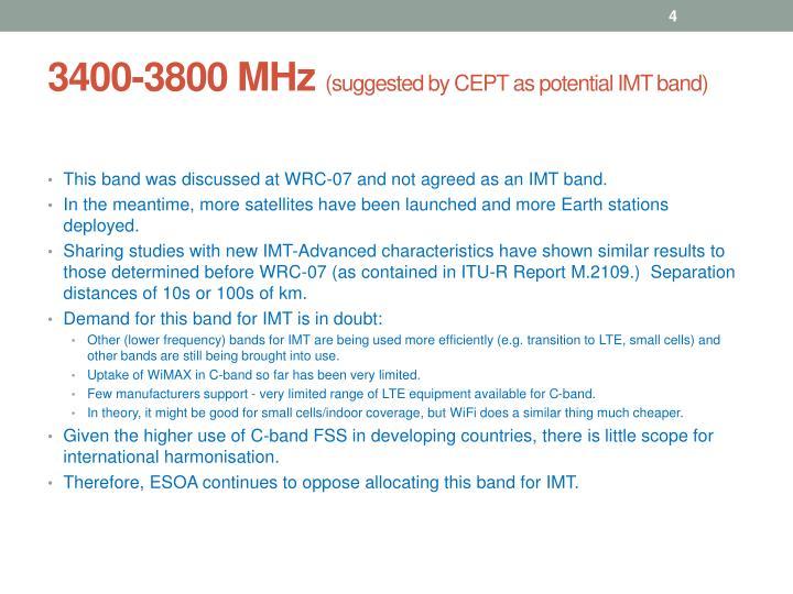 3400-3800 MHz