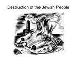 destruction of the jewish people