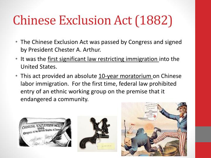 a history of the chinese immigration into the united states History of us immigration the law required immigrants to live in the united states for two years and the chinese exclusion law curbed chinese immigration.