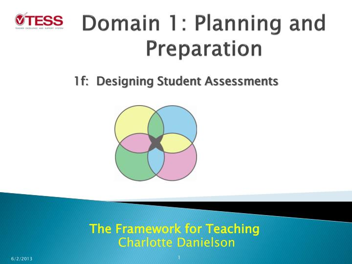 Domain 1 planning and preparation