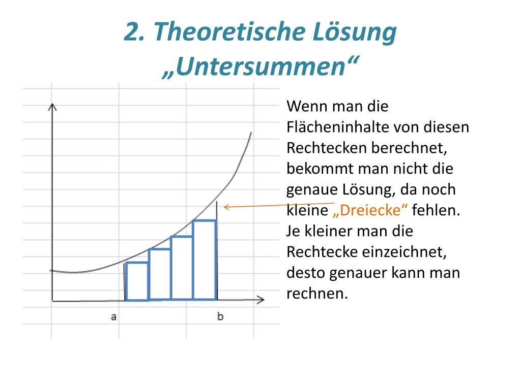 ppt integralrechnung mit excel powerpoint presentation. Black Bedroom Furniture Sets. Home Design Ideas