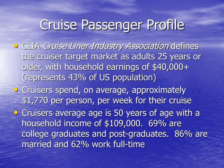 Cruise Passenger Profile
