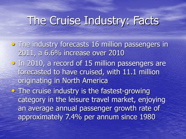 The cruise industry facts