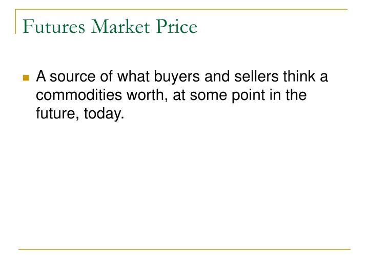 Futures market price