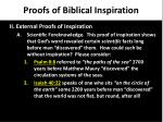 proofs of biblical inspiration5