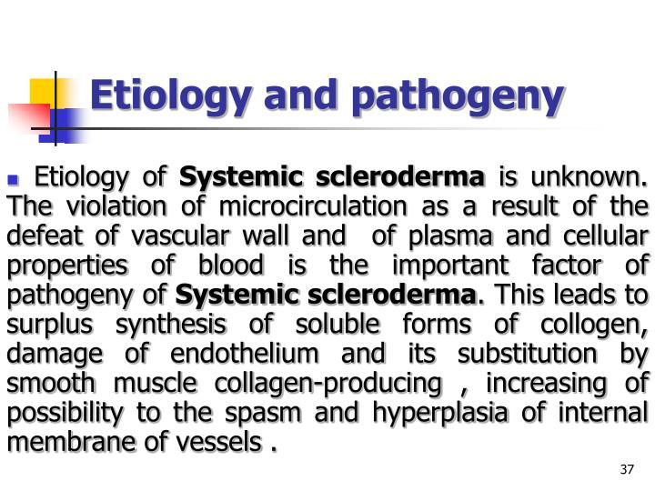 Etiology and pathogeny