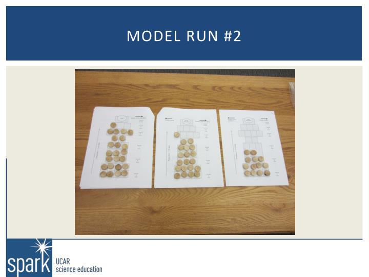 Model run #2