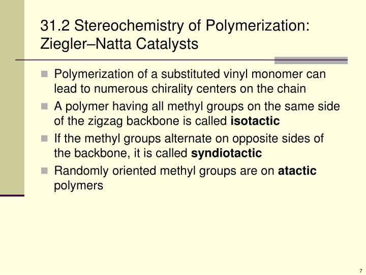 Ppt Chapter 31 Synthetic Polymers Powerpoint
