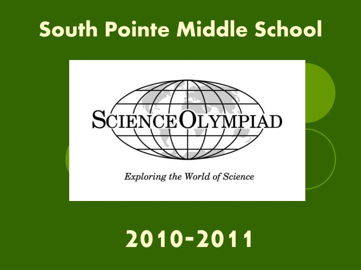 south pointe middle school n.