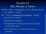 section 9 1 the nature of gases3