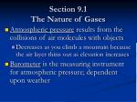 section 9 1 the nature of gases7