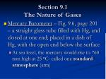 section 9 1 the nature of gases9