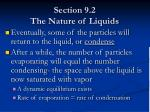 section 9 2 the nature of liquids10