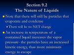 section 9 2 the nature of liquids11
