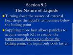 section 9 2 the nature of liquids18