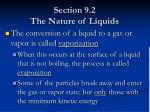section 9 2 the nature of liquids6