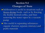section 9 4 changes of state6