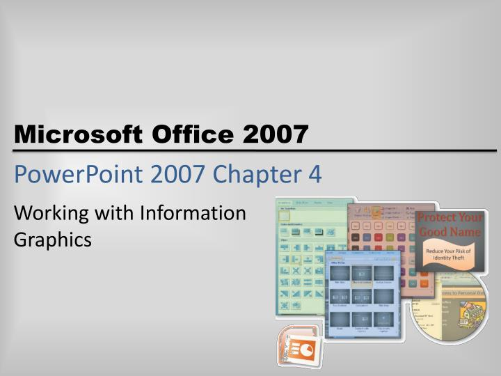 powerpoint 2007 chapter 4 n.