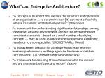 what s an enterprise architecture