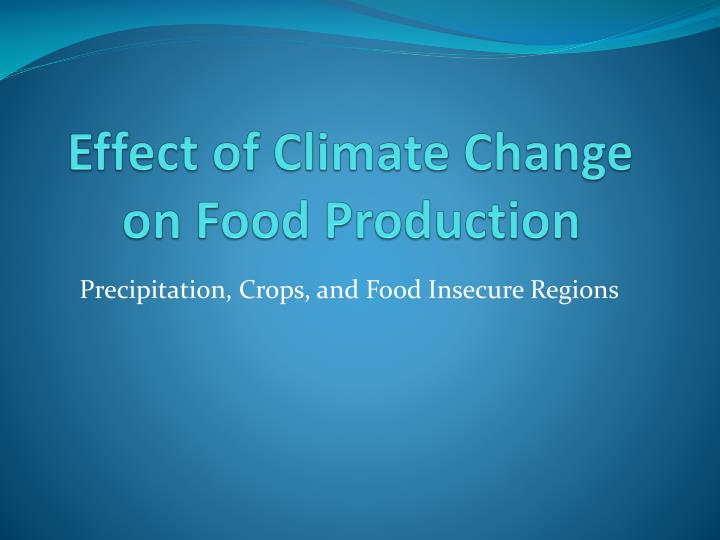 thesis on climate change impact