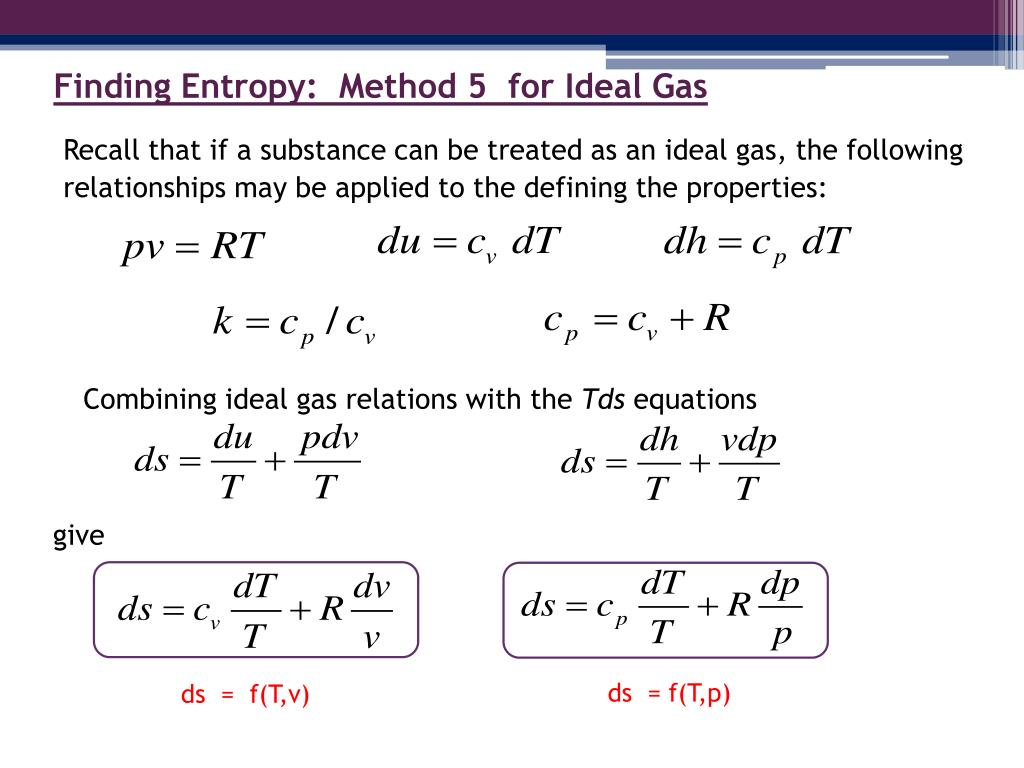 PPT EGR 334 Thermodynamics Chapter 6: Sections 1 5