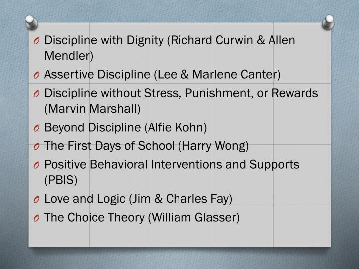 Discipline with Dignity (Richard
