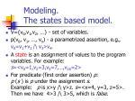 modeling the states based model