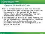 generic linked list code1