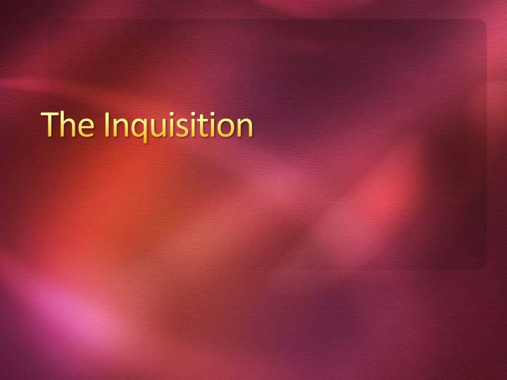 the inquisition n.