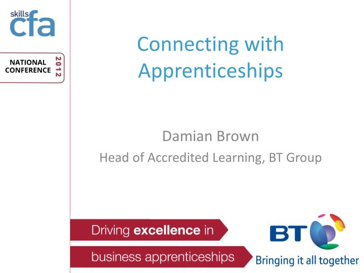 connecting with apprenticeships n.