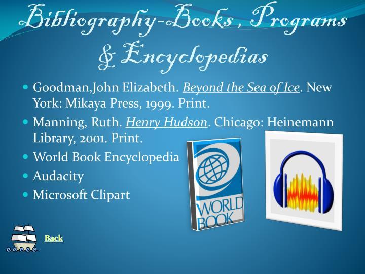 Bibliography-Books