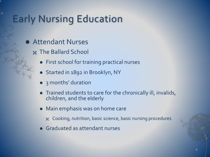 historical context of nursing Doctor of nursing practice within the historical context of our discipline, a history, timing, substance, and marginalization.