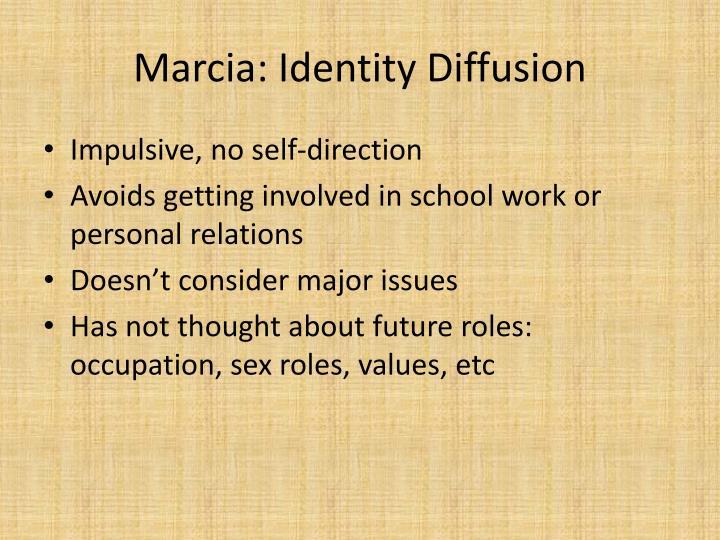 Marcia: Identity Diffusion
