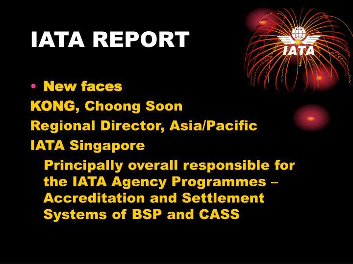 Iata report