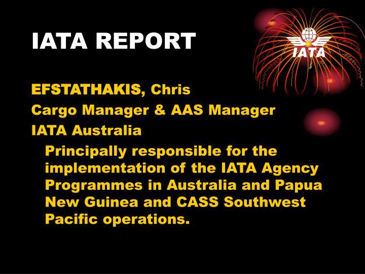 Iata report1