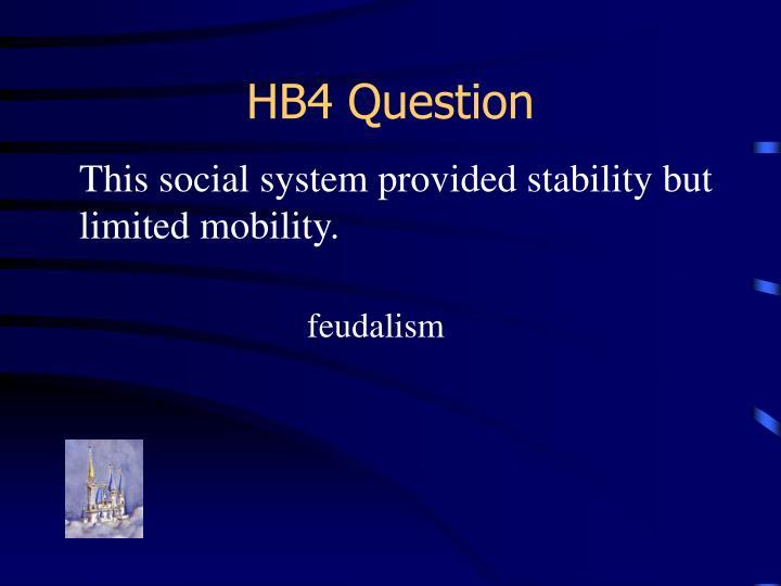 HB4 Question