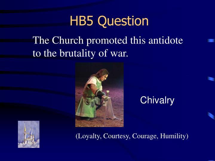 HB5 Question